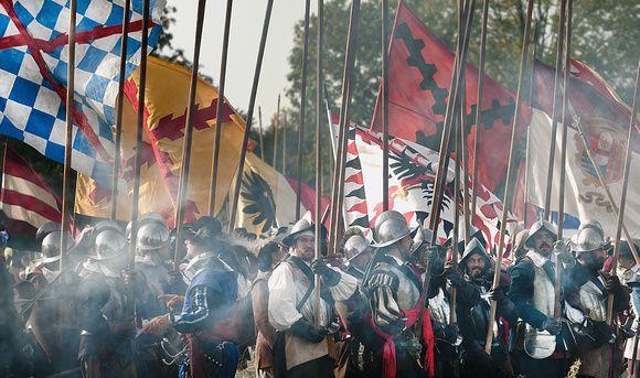 camino español. Batalla de Mons de 1572